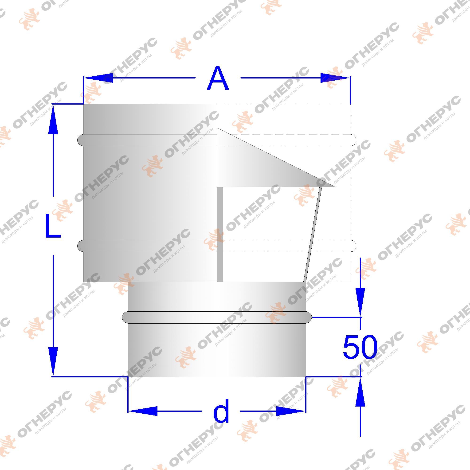 Дефлектор на дымоход своими руками: чертежи и инструкции 44