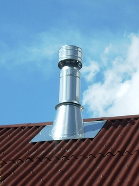 Принцип работы стабилизатора тяги дымохода
