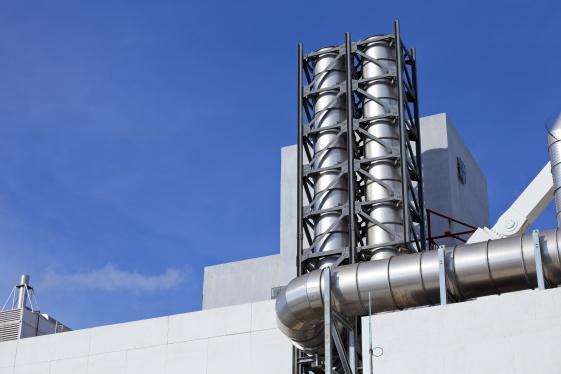 Особенности выбора промышленных дымоходов
