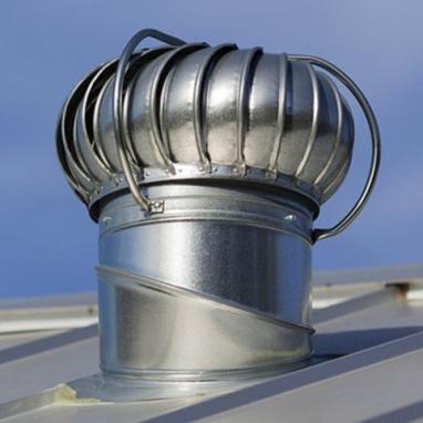 Турбодефлектор для системы вентиляции