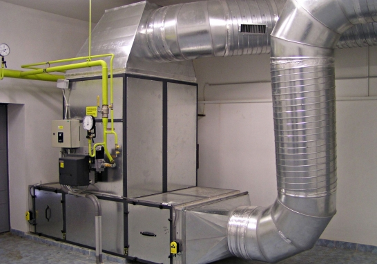 Устройство вентиляционной системы