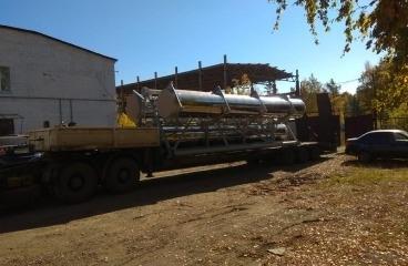 Изготовлена дымовая труба состоящая из 3 стволов для котельной города Горнозаводск