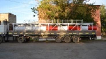 Изготовление и отгрузка дымовой трубы в Курганский пивоваренный завод