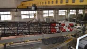 Производство и отгрузка дымовой трубы в г. Кореновск Краснодарского края